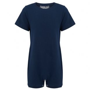 KayCey Super Soft Body Suit - Short Sleeve - NAVY from